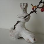 山口佳子さんの陶人形