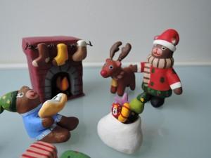 イトトモ屋作品 クリスマスの晩くまのサンタクロース