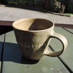 綿摘み陶房重本美玲さんのマグカップ