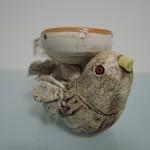 内山亜矢子さんの小鳥のキャンドルホルダー