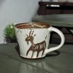 吉澤奈保子さんのマグカップ