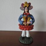 ポルトガルのエストレモーシュ(Estremoz)の陶器人形