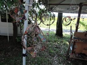 cuzcaさんの作品展示風景