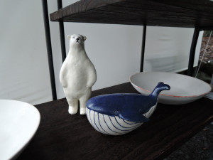 シロクマの名はミルク 福川廣巳さんのブース