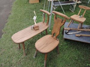 工房イーズリーズさんのいい感じの椅子