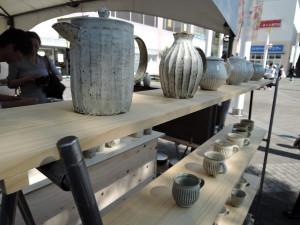 福井一伯さんの作品展示風景