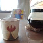 栢野紀文さんチューリップのマグカップ