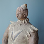 門脇美香江さんの陶器人形 歌姫熱唱