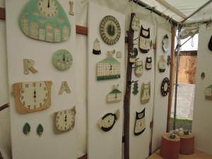伊藤アトリエさんの可愛い時計