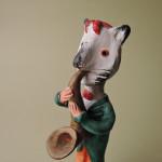 Joao Ferreira (ポルトガル)さんの陶器人形 Gato
