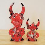 ポルトガル Julia Cotaさんの人気陶器人形 デーモン2体