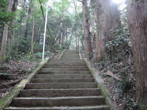 愛宕神社への参道