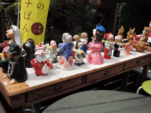 ポルトガル陶人形販売会風景