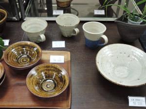 伊東正明さん陶展 コバルト釉のツートンマグ