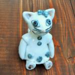 岡田育子さんの陶器人形 ネコGirl