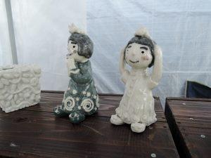 岡田育子さんの展示作品