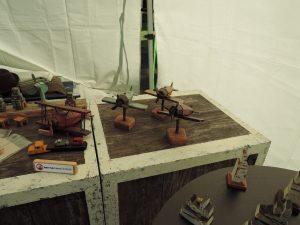 木工作家juconさんの作品展示風景