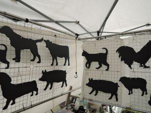 moonchildさんの動物の黒板