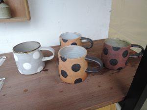 GACOの家 並ぶ可愛いマグカップ