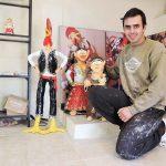 ポルトガル陶器 陶人形作家ネルソンオリヴェイラさん