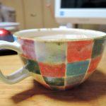 AGO PAIX LABOさん カラフルタイルのマグカップ