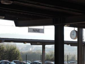 バルセロスまでの道のり 乗り換えNINE駅