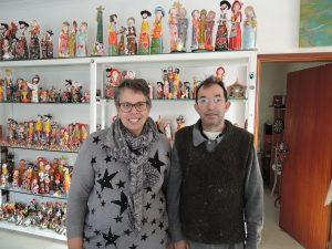 ジョアンさんと奥様のルイーザさん。