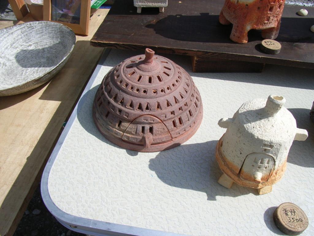 相原さんのユニークな香炉