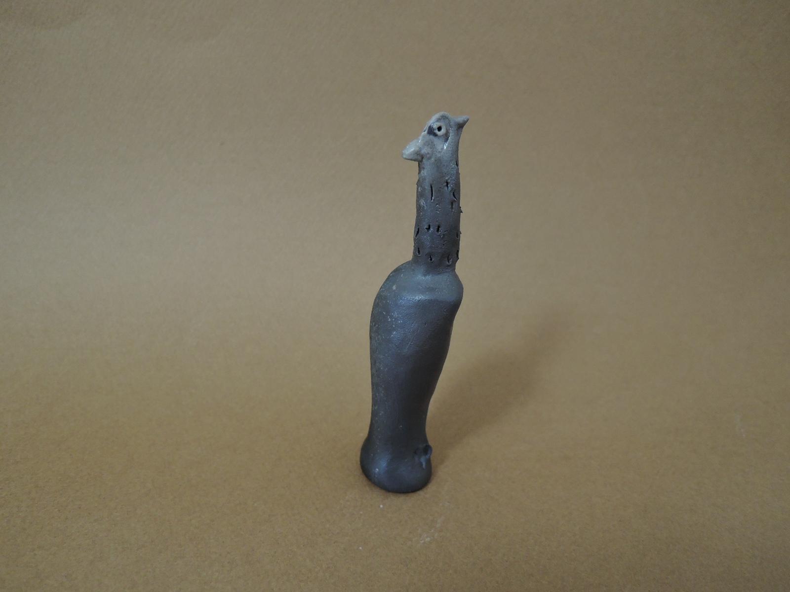前川幸市さんの鳥のオブジェ