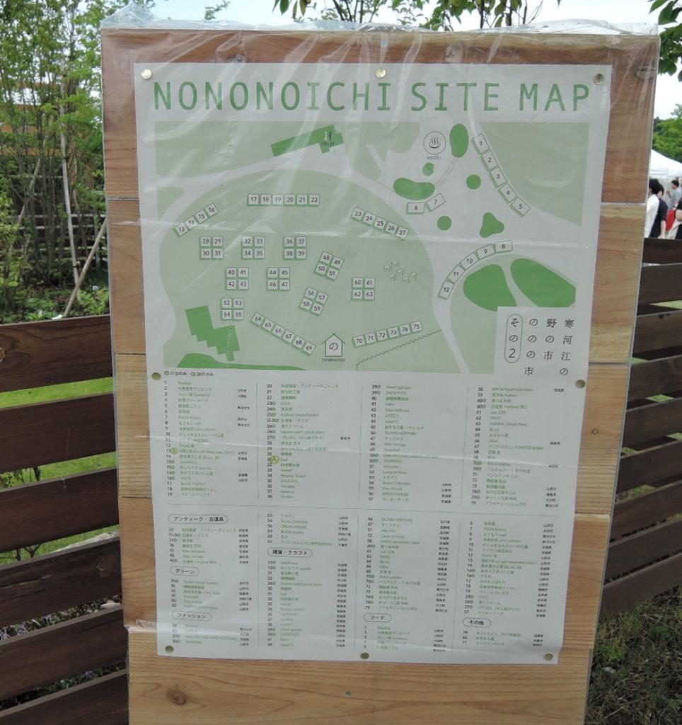 寒河江の野の市野ののの市マップ