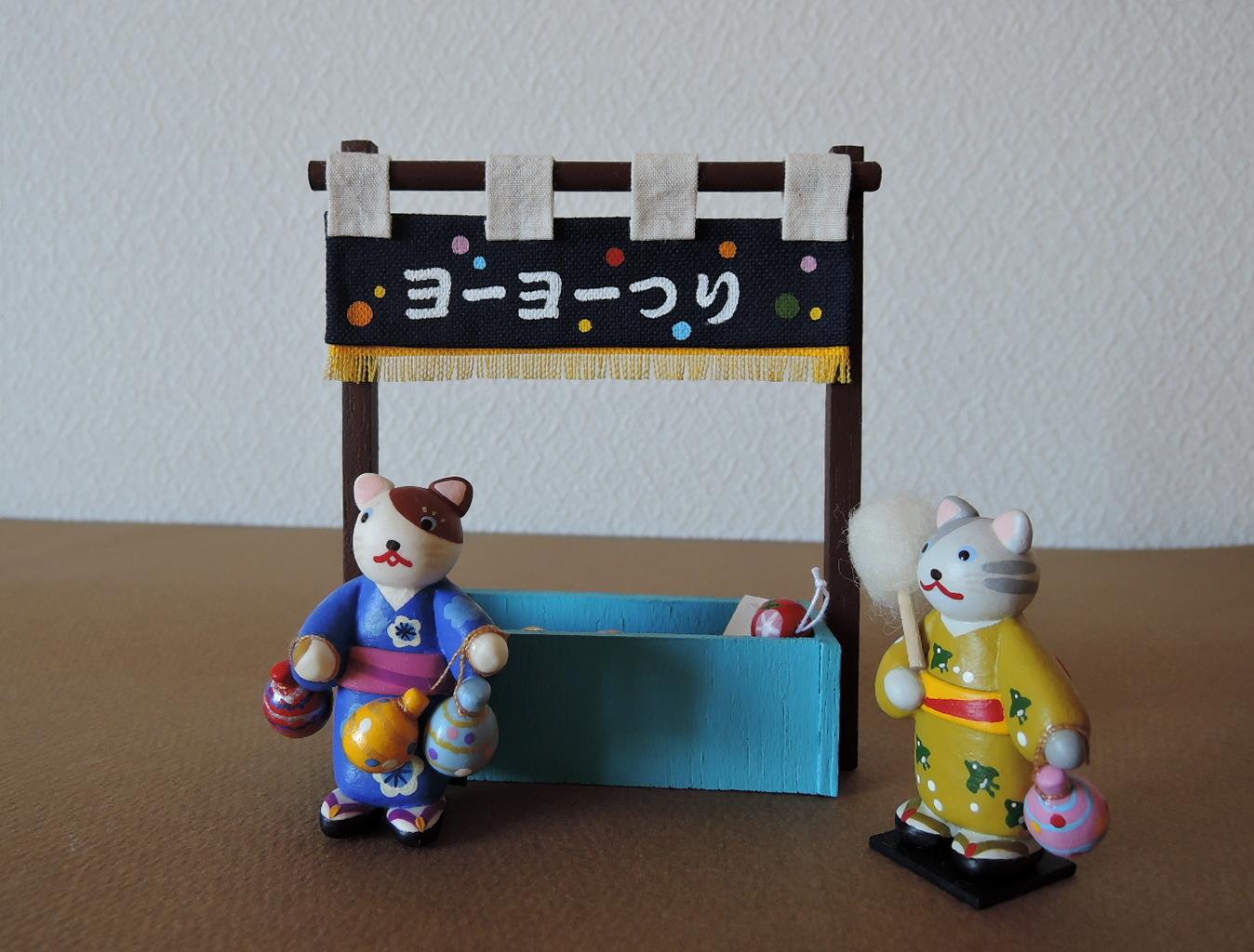 イトトモ屋さんの夏の夜店「ヨーヨーつり」