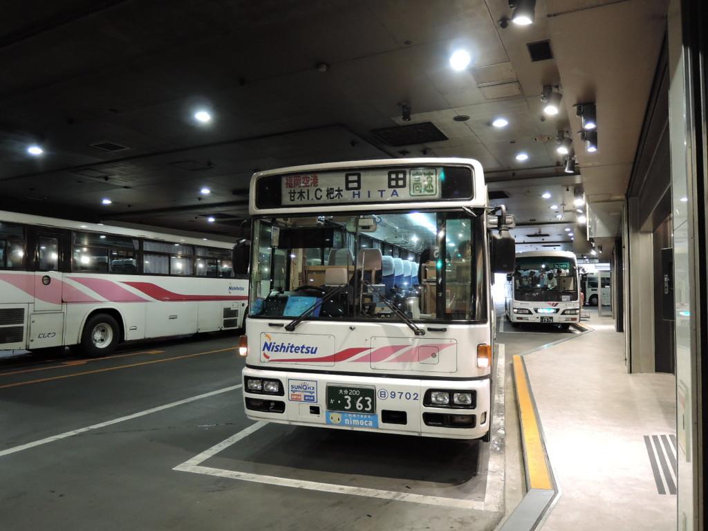 福岡天神から杷木に行くバス