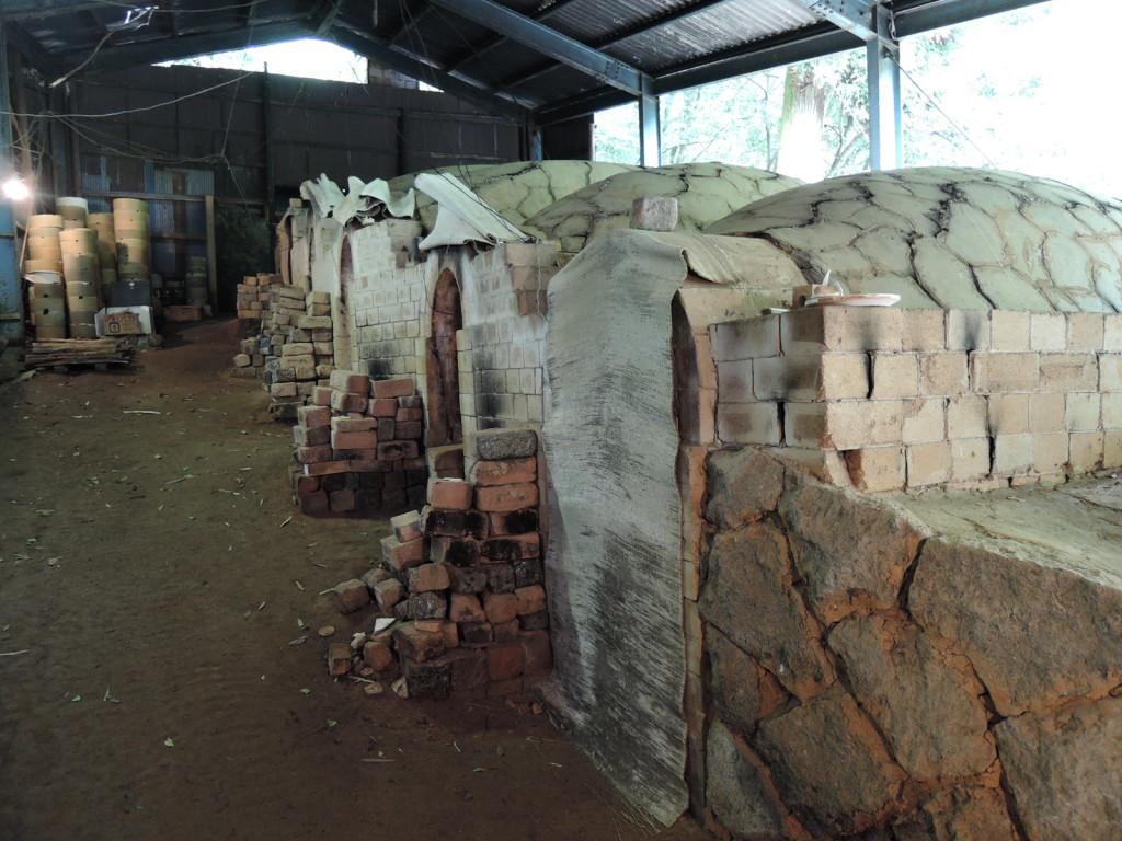 髙取焼宗家の登り窯