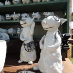 愛知県岡田育子さんの陶人形