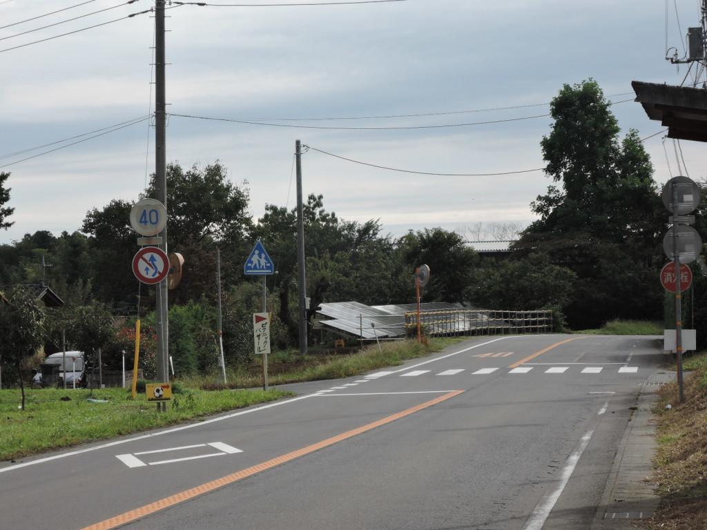 ガラジピクニックバザールへの道案内標識