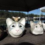 逃猫舎さんの展示作品リアルな猫
