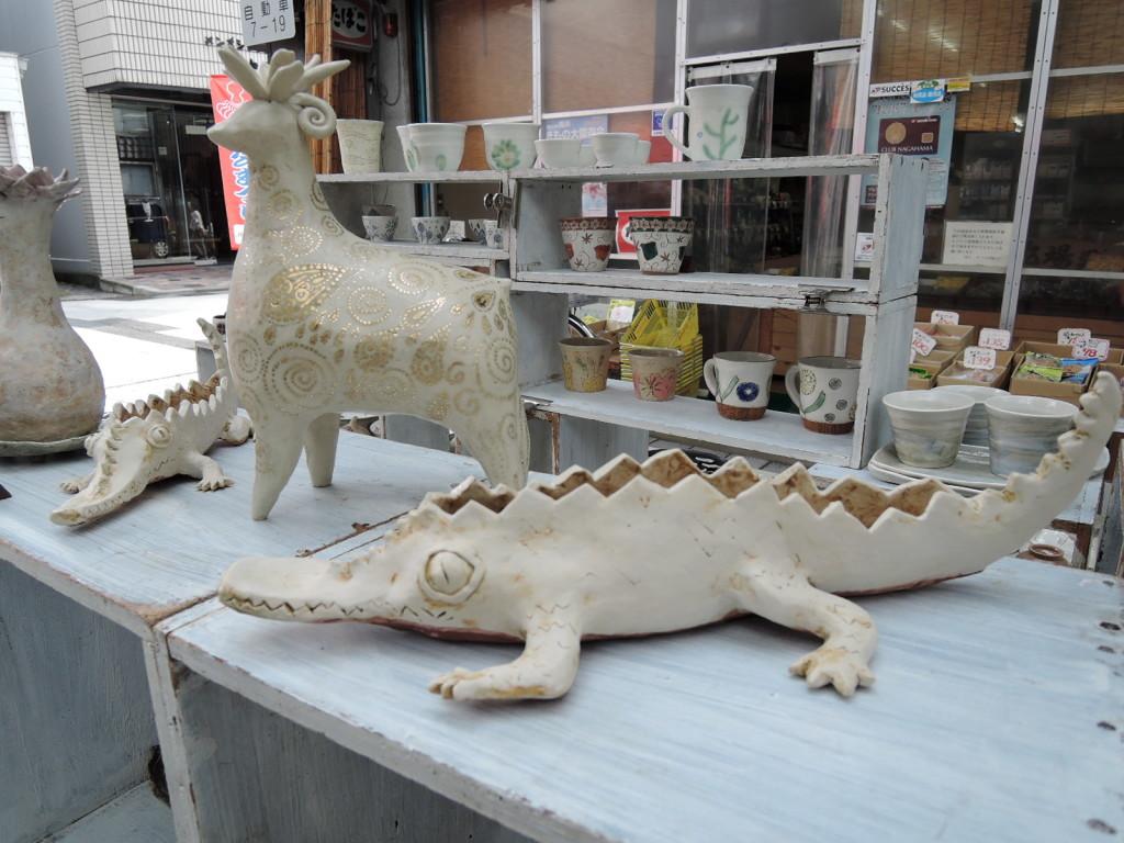 陶芸工房SPROUT佐藤ゆきさんのブース作品