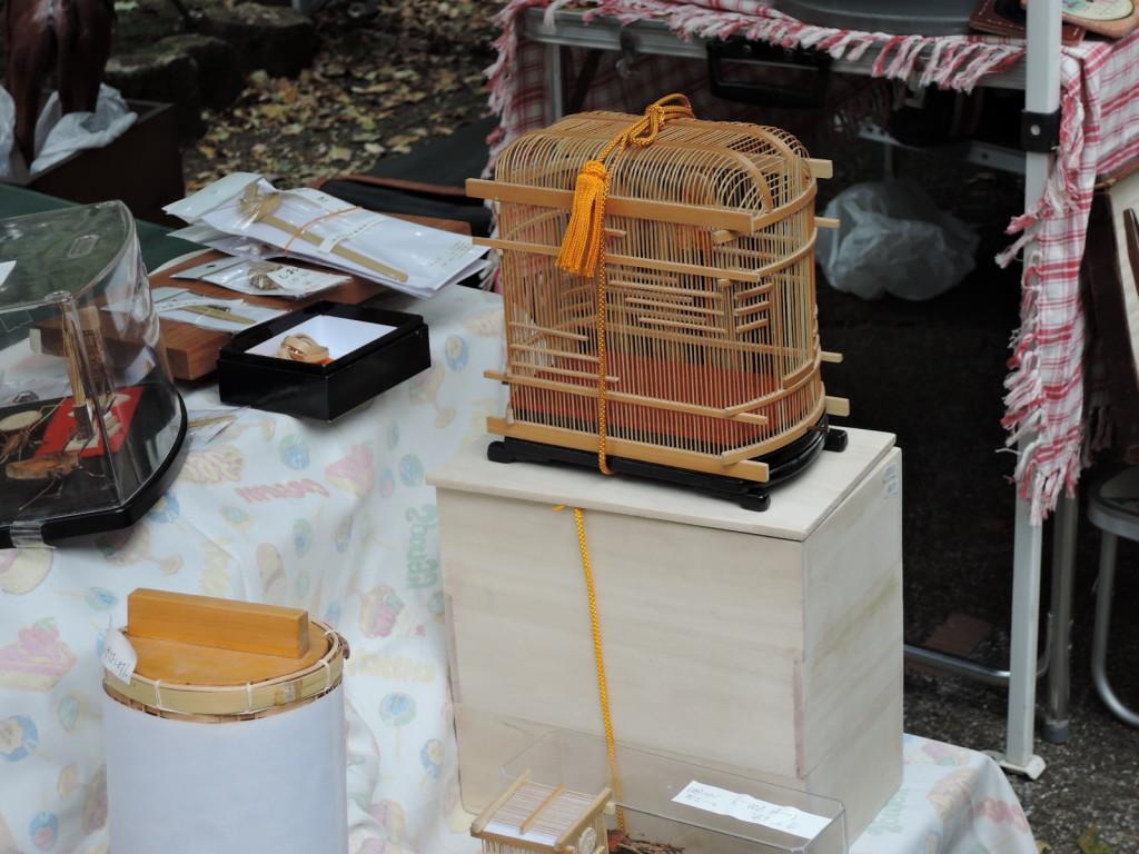 三島・萩の竹工房さんの虫かご