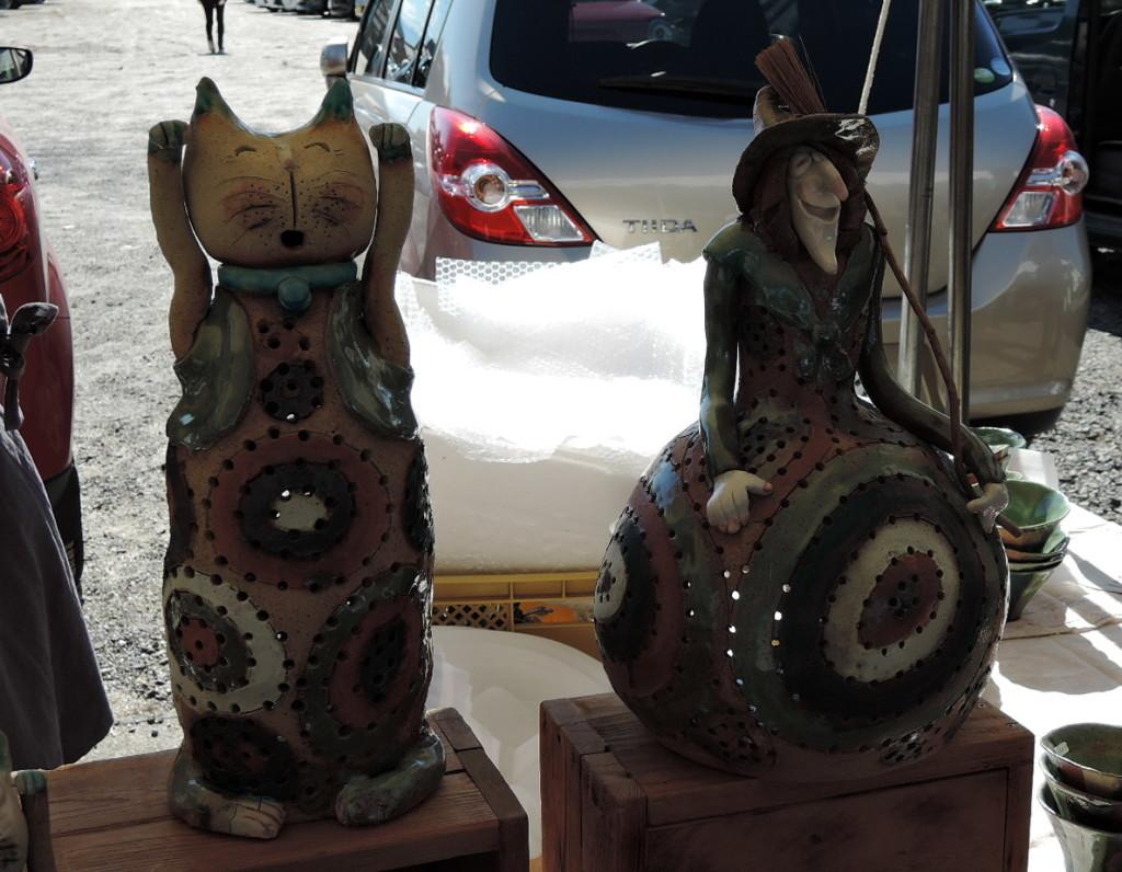 あけび窯さんのブース作品