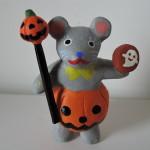 イトトモ屋さんのハロウィン ネズミの仮装
