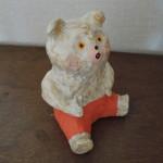 増田光さんのクマの陶人形