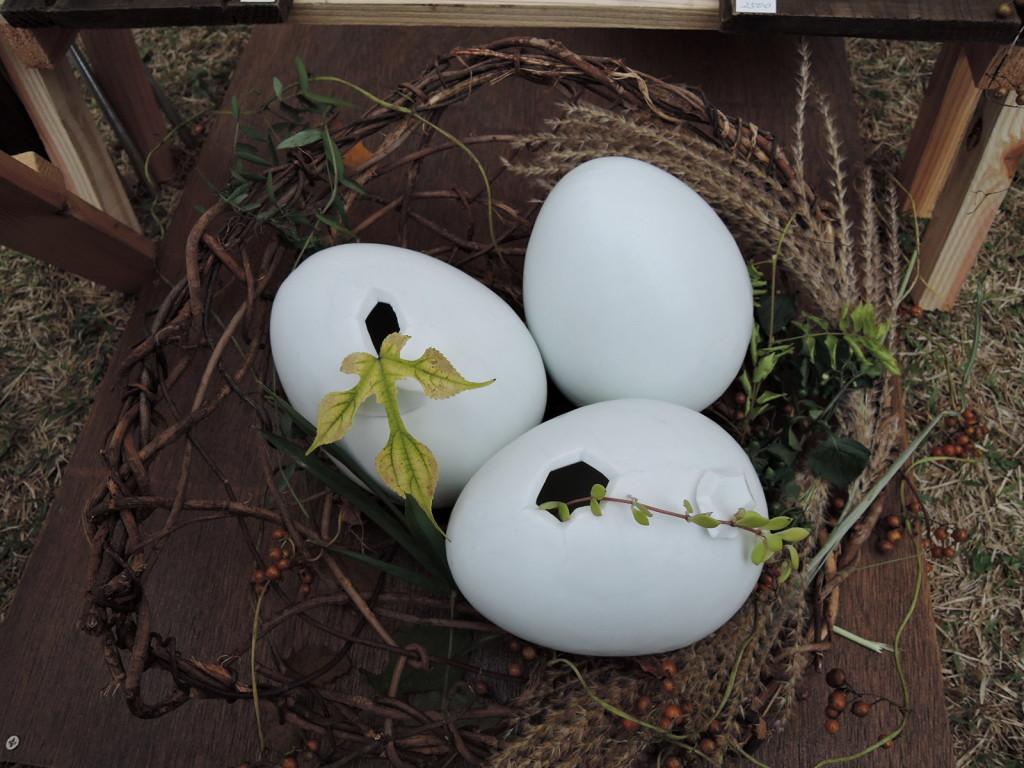 野波実さんの「鳥の巣」