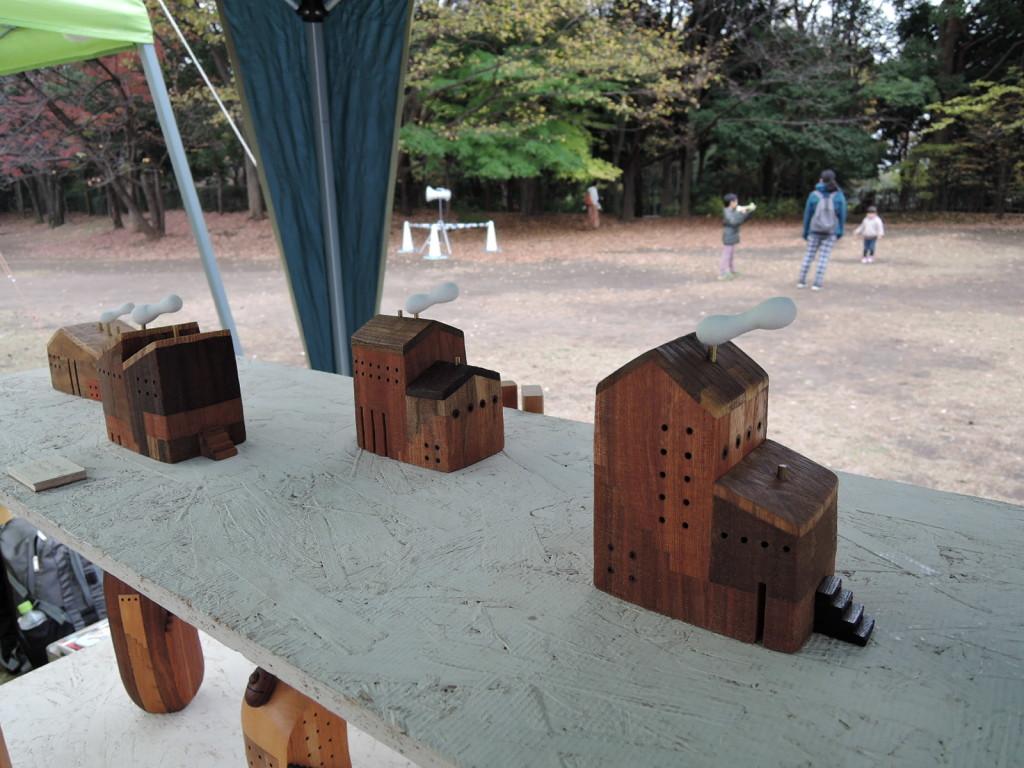 あづ木クラフトさんのブース作品