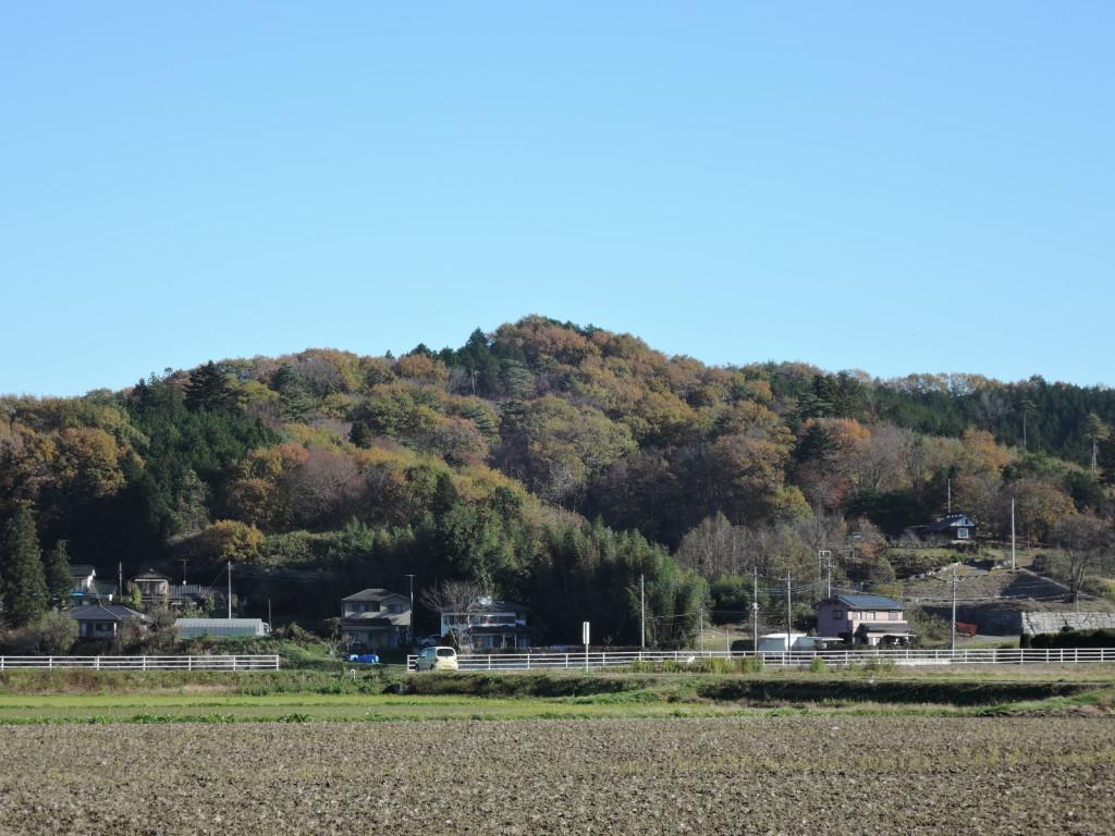 益子もえぎ本店までもう少し里山の景色