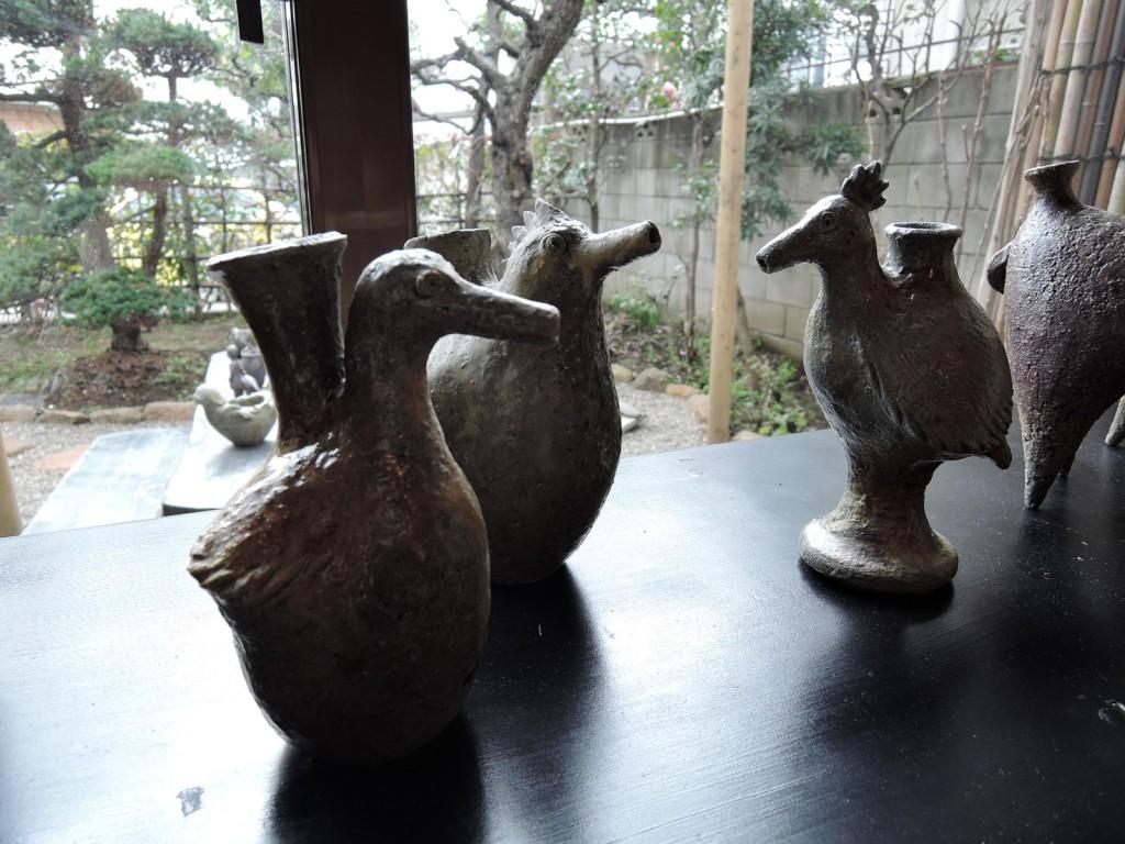 屋久島埴生窯(はにいがま)山下正行さん陶展風景