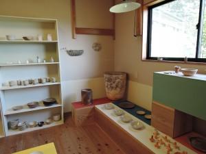 石原稔久さんの作品展示室風景
