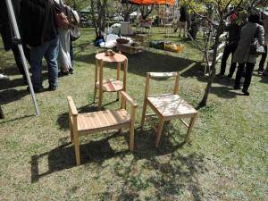 山口の木工作家 木工房空の展示作品