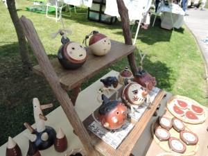 兵庫の陶芸家 朴洋絵さんの展示作品