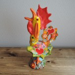 ポルトガルの陶器人形 Joao Ferreira(ポルトガル)さんのガロ