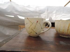 鈴木宏美さんのブースのカップ